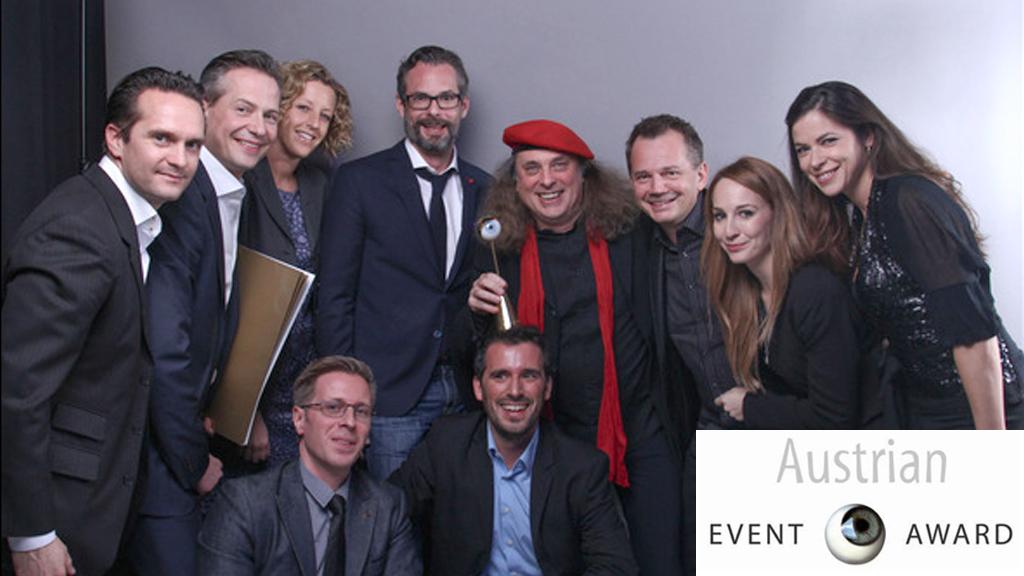 """Event Award 2014 in Gold für """"Das neue DREI"""" (mit Eventplan)"""